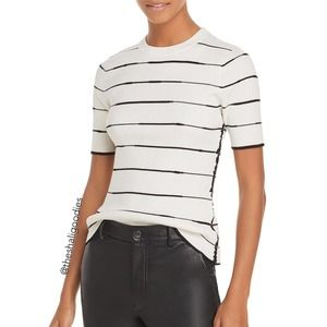 3.1 PHILLIP LIM Knit Striped Top T-Shirt
